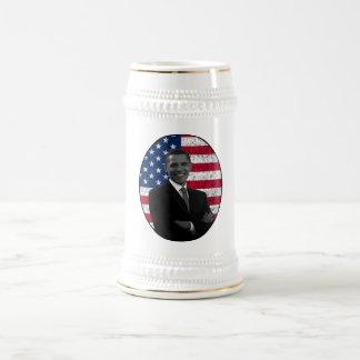 President Obama and The American Flag Coffee Mug