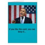 President Obama birthday card
