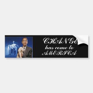 President Obama Change Bumper Sticker