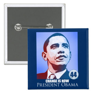 President Obama, Change is Now Button