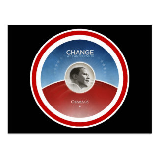 President Obama CHANGE Postcard