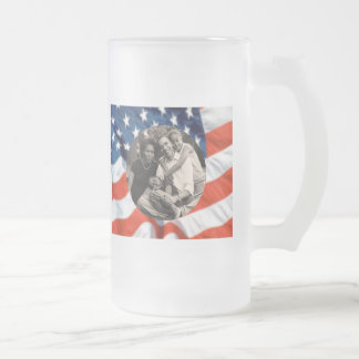 President Obama Collectibles Frosted Glass Mug