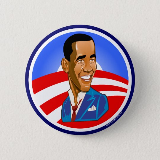President Obama Commemorative Button