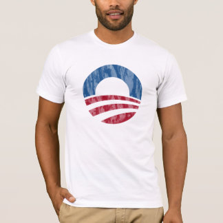 President Obama Distressed Logo Tee
