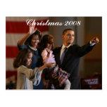 President Obama First Family Keepsake Post Cards