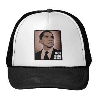 president obama - four more years cap