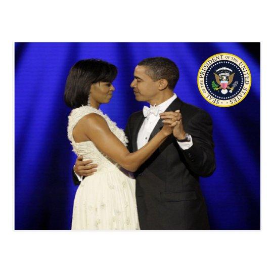 President Obama Inauguration Ball Commemorative Postcard