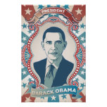 President Obama Inauguration Celebration Poster