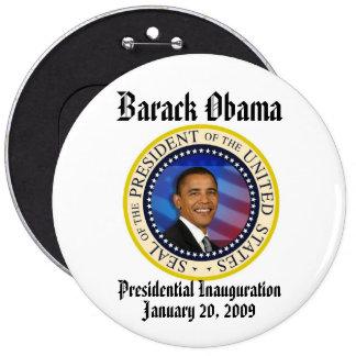 PRESIDENT OBAMA Inauguration Commemorative 6 Cm Round Badge
