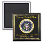 PRESIDENT OBAMA Inauguration Commemorative Refrigerator Magnets