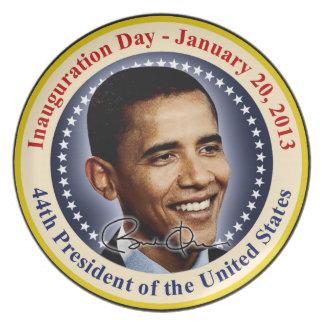 President Obama Inauguration Day Dinner Plate
