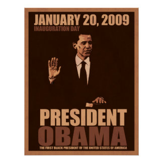 President Obama Inauguration Poster
