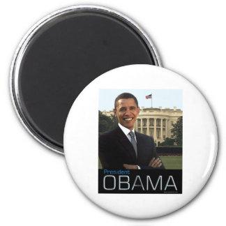 President Obama 6 Cm Round Magnet