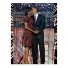 President Obama & Michelle Keepsake Postcard