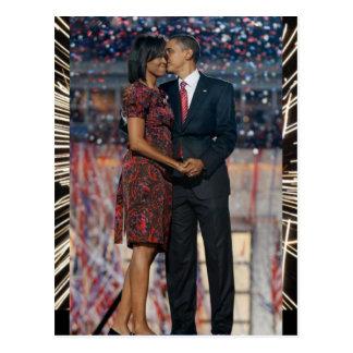 President Obama & Michelle Keepsake Postcard