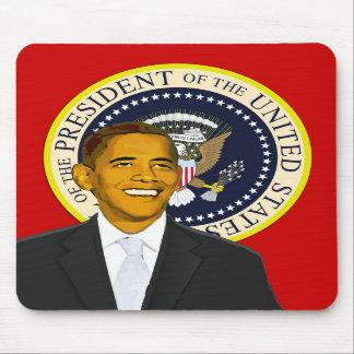 President Obama Mousepad - Red