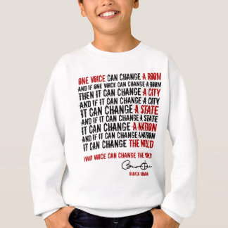 President Obama: One voice can change the World Tshirt