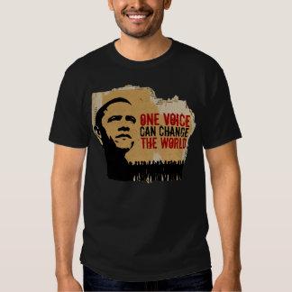 PRESIDENT OBAMA. ONE VOICE SPEECH crdb T-shirt
