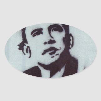 President Obama Oval Sticker