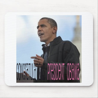President Obama Wins Mouse Pad