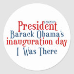 President Obamas inauguration Stickers