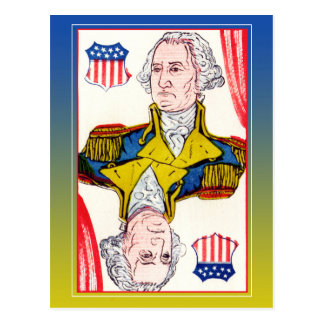 President of Shields - George Washington Postcard