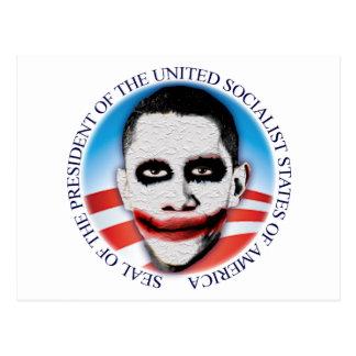 President of the USSA Postcard