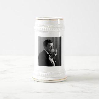 President Reagan Making A Toast Mug