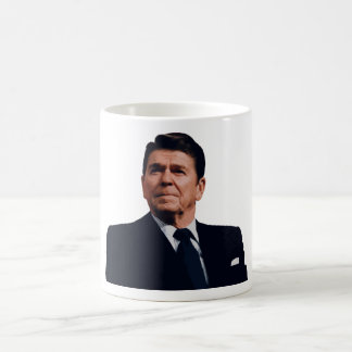President Reagan Classic White Coffee Mug