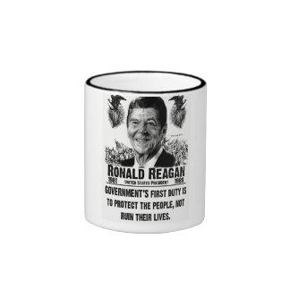 President Ronald Reagan Ringer Mug