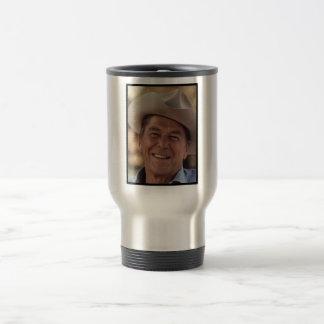 President Ronald Reagan Stainless Steel Travel Mug
