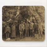President Roosevelt and John Muir Beneath (Sepia) Mouse Pads