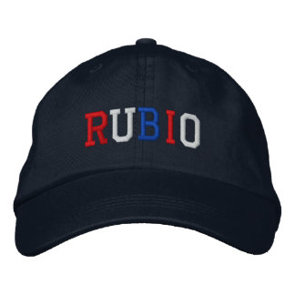 President Rubio 2016 Red White Blue Patriotic Hat Embroidered Cap