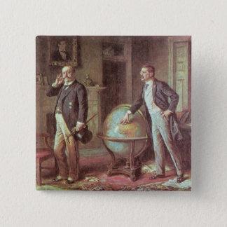 President Theodore Roosevelt 15 Cm Square Badge