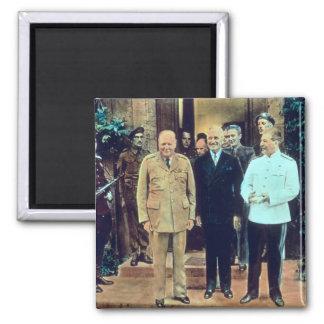 President Truman and Joseph Stalin Magnet