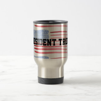 President Trump For Americans First USA Travel Mug