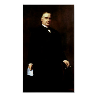 President William McKinley Painting Poster