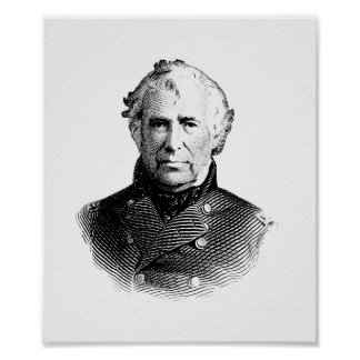 President Zachary Taylor Poster