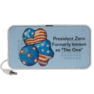 "President Zero formerly known as ""The One"" Laptop Speaker"