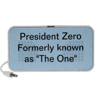 "President Zero formerly known as ""The One"" iPhone Speaker"