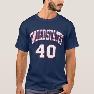 Presidentees #40 Reagan T-Shirt