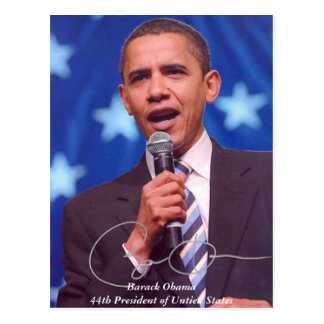 Presidential Commemorative Products Postcard