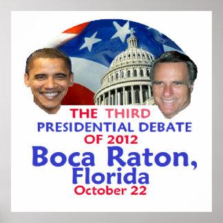 Presidential Debate Print