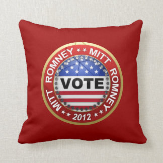 Presidential Election 2012 Mitt Romney Pillow