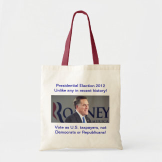 Presidential Election 2012 Romney Photo Bag