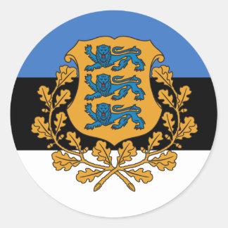 Presidential Estonia, Estonia Classic Round Sticker