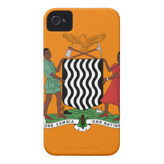 Presidential flag of Zambia iPhone 4 Cases