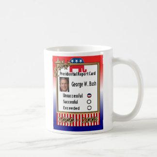 Presidential Report Card   2000-2008 Coffee Mugs