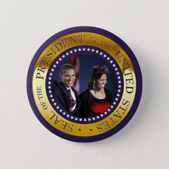 Presidential Seal 6 Cm Round Badge