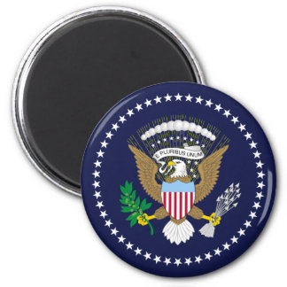 Presidential Seal 6 Cm Round Magnet